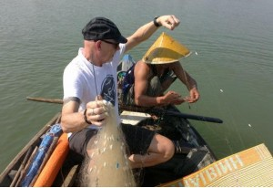 Learning Fishing – Farming & Cooking Class in Hoi An